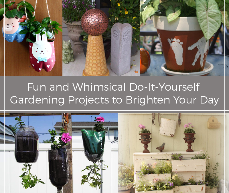 Fun and Whimsical Do-It-Yourself Gardening Projects to Brighten Your Day