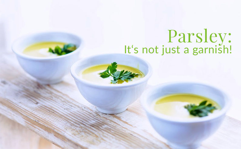 Why You Shouldn't Push Parsley Aside Anymore