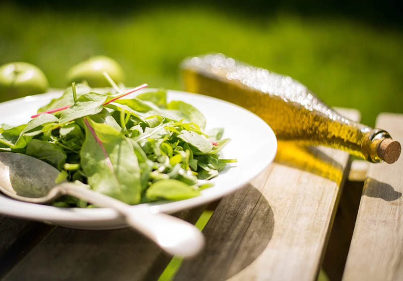 Herb-Infused Oil Salad